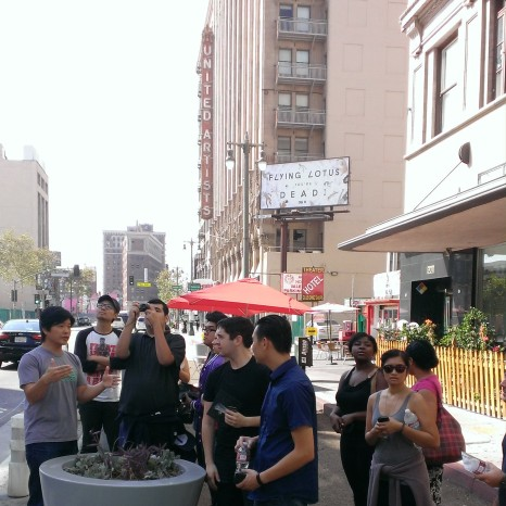 "Students learn about ""Bringing Back Broadway"" with Architect Simon Ha"