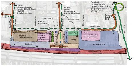 Tropico Station area plan