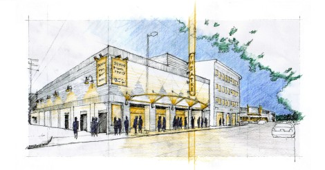 exchange theatre sketch colored