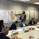 Explaining land use development history at July 12, 2016 City Council planning workshop