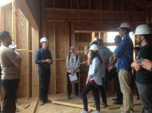 Visiting Blackbirds construction site