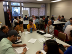 Roundtable workshop with students, developers and architects