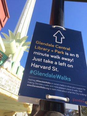 Temporary Wayfinding Signs