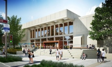 Glendale Central Library rendering by Gruen Associates