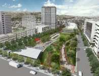 """The Heart"" Brand Facing West"