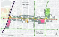 Map of the East Broadway Corridor
