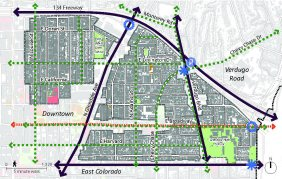 Map of the City Center-Citrus Grove Neighborhoods