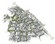 Tropico TOD birdseye as drawn by CityWorks Design