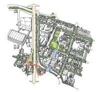 Pacific Edison Birdseye as drawn by CityWorks Design