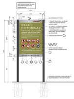 Schematics for Park Signs