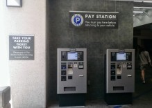 Pay Here Stations in Public Garages