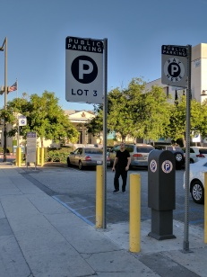 Parking Lot Entry Signs