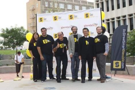 Be Street Smart Glendale team at press conference