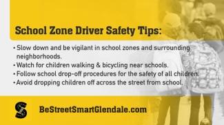 School Zone Safety Tips