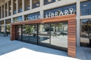 Glendale Central Library North Entry (photography by Tom Pellicer)