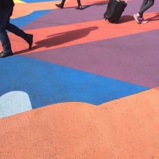 Santa Monica Crosswalks