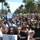 BLM March in Santa Monica | photo for SMDP