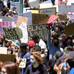 BLM March | photo by Stacey Leasca for Business Insider